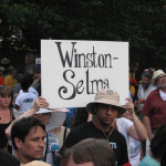 Moral Monday March for Voting Rights, July 13, 2015